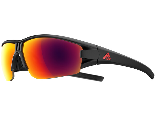 adidas Evil Eye Halfrim Glasses black matt/red